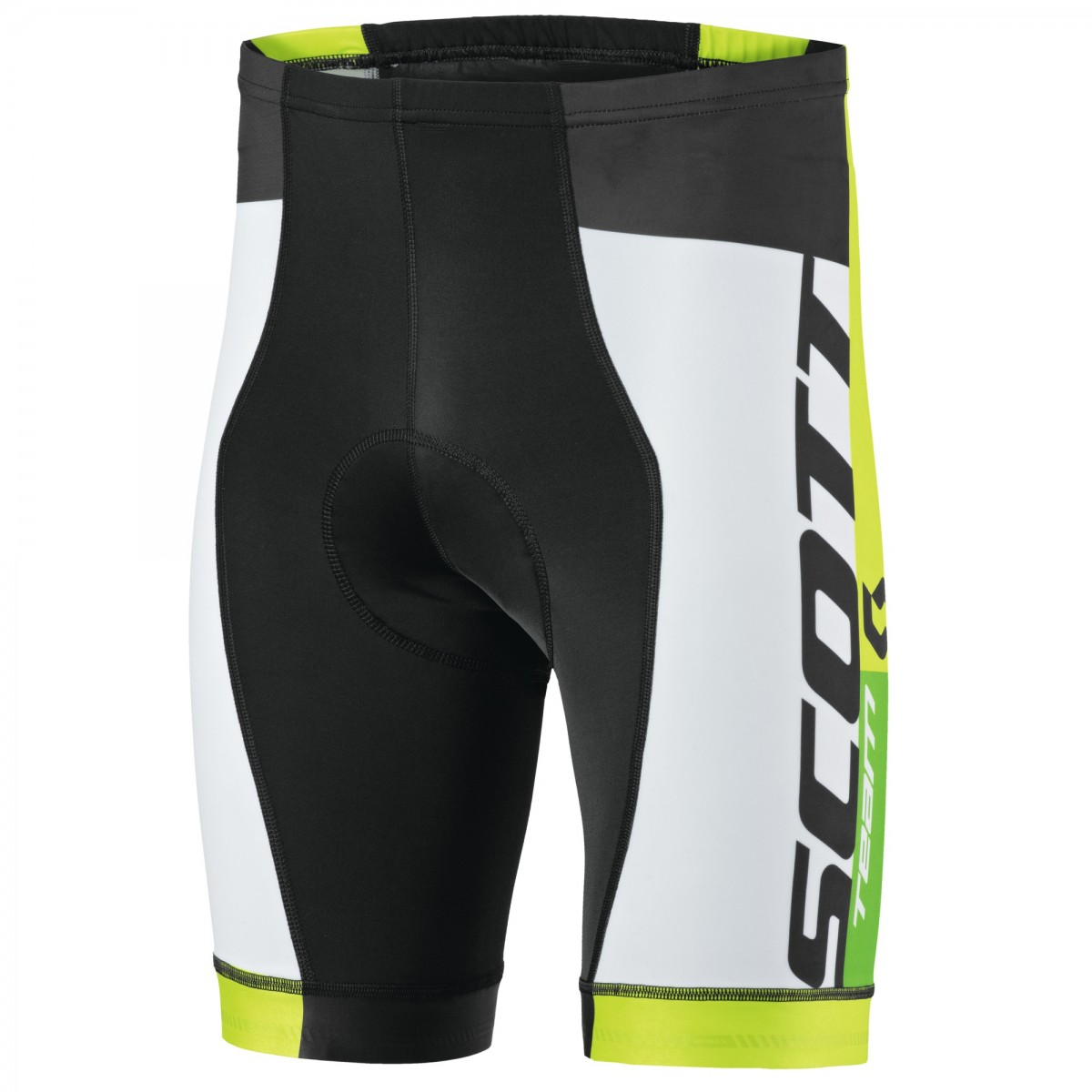 SCOTT BIKE SHORTS RC TEAM 2015 BLACK TENDER GREEN - cumaricambike.it 0812e73ad