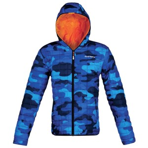 ACERBIS GIACCA UOMO LOUIS 2016 CAMOUFLAGE BLUE