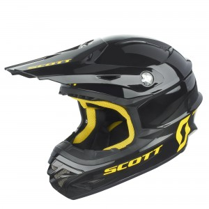SCOTT CASCO CROSS 350 PRO 2016 BLACKYELLOW