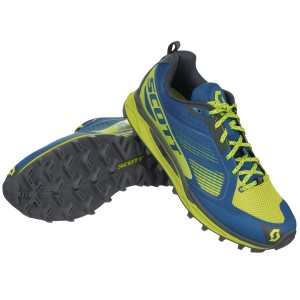 SCOTT RUNNING SHOES 2016 KINABALU SUPERTRAC BLUE/YELLOW