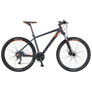 SCOTT BICI 2016 ASPECT 750 ANTHRACITE/BLACK/ORANGE TAGLIA M