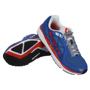 SCOTT SCARPE RUNNING 2016 PALANI TRAINER BLUE/RED