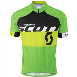SCOTT SHIRT RC TEAM S/SL 2015 GREEN/TENDER GREEEN