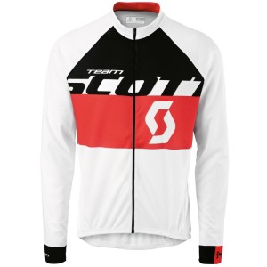 SCOTT MAGLIA MANICA LUNGA RC TEAM L/SL WHITE/RED