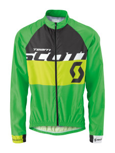 SCOTT JACKET WB RC TEAM 2015 CLASSIC GREEN/TENDER GREEN