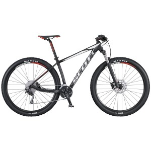 SCOTT BICI 2016 SCALE 970 BLACK/WHITE/RED TAGLIA M
