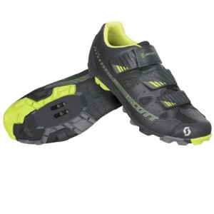 SCOTT BIKE SHOES MTB ELITE BLACK/LIME GREEN