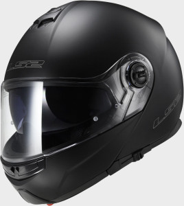 LS2 CASCO URBAN 2016 FF325 STROBE MATT BLACK