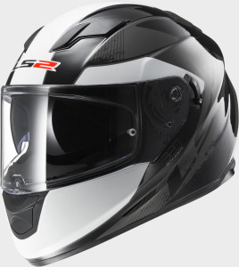 LS2 CASCO ROAD 2016 FF320 STREAM STINGER BLACK TITANIUM