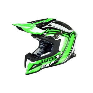 JUST1 CASCO OFFROAD 2016 J12 FLAME GREEN/WHITE