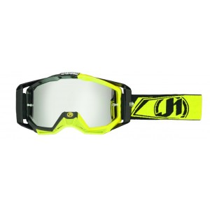 JUST1 OCCHIALE CROSS 2016 IRIS CARBON FLUO YELLOW MIRROR LENS