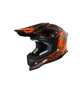 JUST1 CASCO OFFROAD J12 CARBON FLUO ORANGE