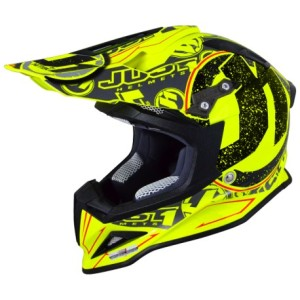 JUST1 CASCO OFFROAD 2016 J12 STAMP YELLOW FLUO