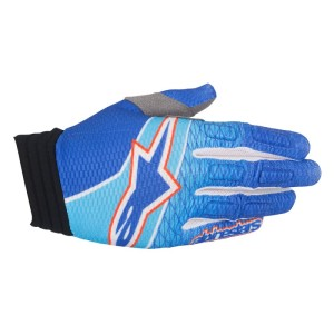 ALPINESTARS GUANTI OFF ROAD AVIATOR BLUE/CYAN/RED