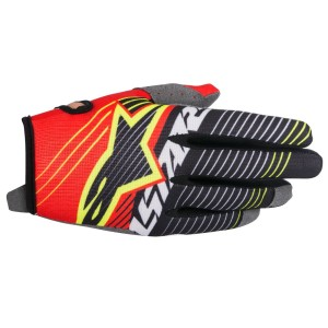 ALPINESTARS GUANTI OFF ROAD RADAR TRACKER RED/WHITE/BLACK