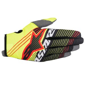 ALPINESTARS GUANTI OFF ROAD RADAR TRACKER YELLOW FLUO/BLACK
