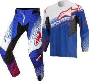 ALPINESTARS COMPLETO OFF ROAD TECHSTAR FACTORY 2017 BLUE/WHITE/RED
