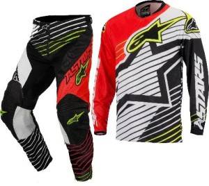 ALPINESTARS COMPLETO OFF ROAD RACER BRAAP RED/WHITE/BLACK