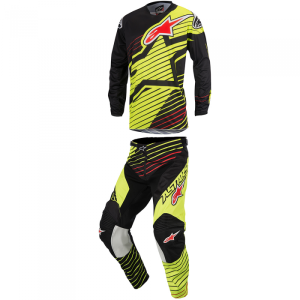ALPINESTARS COMPLETO OFF ROAD JUNIOR RACER BRAAP YELLOW FLUO/BLACK