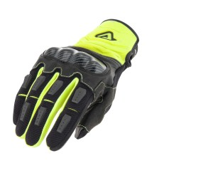 "ACERBIS CARBON ""G"" 3.0 GLOVES YELLOW FLUO/BLACK"