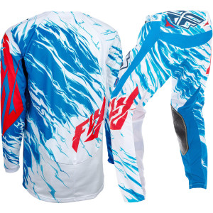 FLY COMPLETO OFF ROAD 2017 KINETIC RELAPSE BLU/BIANCO/ROSSO