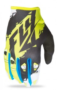 FLY OFF ROAD KINETIC GLOVES 2017 BLACK/LIME/WHITE