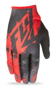 FLY OFF ROAD KINETIC GLOVES 2017 BLACK/RED