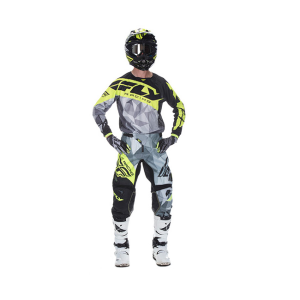 FLY COMPLETO OFF ROAD 2017 KINETIC CRUX NERO/GRIGIO/GIALLO FLUO