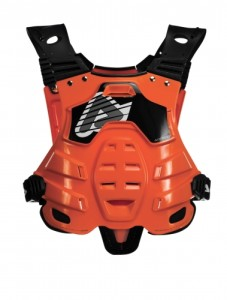 ACERBIS PETTORINA OFF ROAD PROFILE CHEST PROTECTOR ARANCIO taglia UNICA