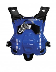 ACERBIS PETTORINA OFF ROAD PROFILE CHEST PROTECTOR BLU taglia UNICA