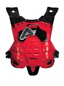 ACERBIS OFF ROAD PROFILE CHEST PROTECTOR RED ONE SIZE