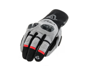 ACERBIS BLACK/GREY ADVENTURE DUAL ROAD GLOVES