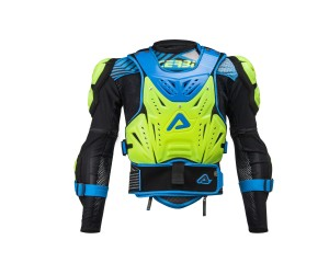 ACERBIS FLUO YELLOW/BLUE COSMO LEVEL2 2.0 BODY ARMOUR