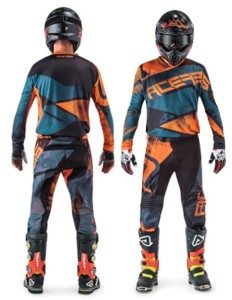 ACERBIS OFF ROAD JERSEY+PANTS MUDCORE ORANGE/BLACK 2018