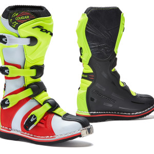 COUGAR BLACK-YELLOW FLUO-RED