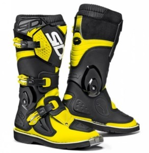 SIDI STIVALI OFF ROAD FLAME JUNIOR GIALLO FLUO/NERO
