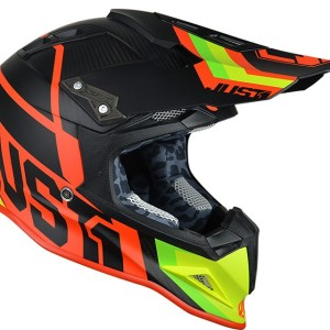 JUST1 CASCO OFF ROAD 2018 J12 UNIT RED-LIME MATT