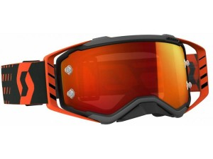 SCOTT OCCHIALI OFF ROAD PROSPECT BLACK/ORANGE ORANGE CHROME WORKS
