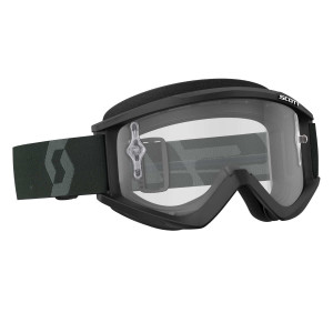 SCOTT RECOIL XI GOGGLE BLACK/WHITE CLEAR WORKS
