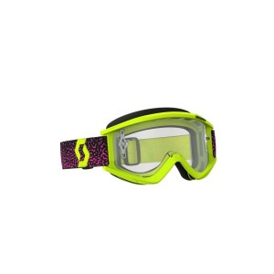 SCOTT RECOIL XI GOGGLE YELLOW/PINK CLEAR WORKS