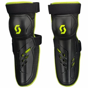 SCOTT PURSUIT KNEE GUARD BLACK/GREEN ONE SIZE