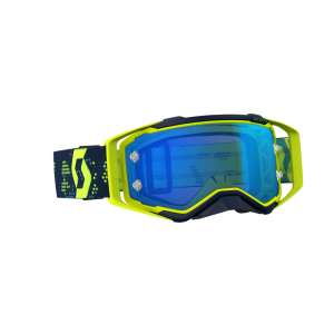 SCOTT OCCHIALI OFF ROAD PROSPECT YELLOW/BLUE ELECTRIC BLUE CHROME WORKS