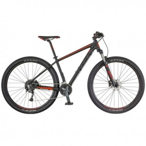 SCOTT BIKE ASPECT 740 BLACK /RED