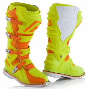 ACERBIS X-MOVE 2.0 OFF ROAD BOOTS FLUO YELLOW/FLUO ORANGE