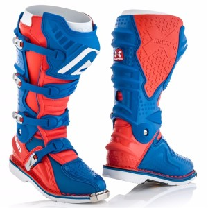 ACERBIS X-MOVE 2.0 OFF ROAD BOOTS RED/BLUE