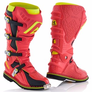 ACERBIS X-MOVE 2.0 OFF ROAD BOOTS RED/YELLOW