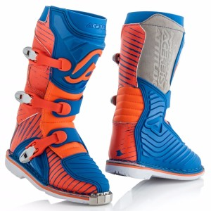 ACERBIS OFFROAD BOOTS SHARK JUNIOR BLUE/ORANGE