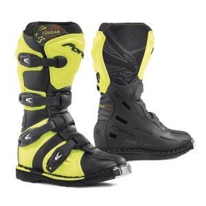FORMA JUNIOR OFF ROAD BLACK/YELLOW FLUO BOOTS 2018