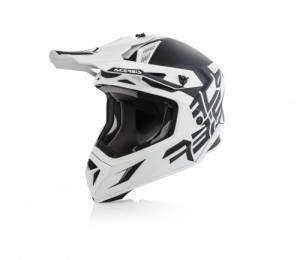 ACERBIS OFF ROAD X-PRO VTR HELMET BLACK/WHITE