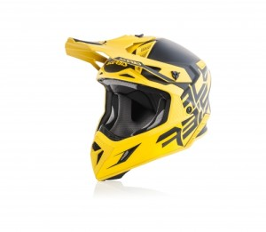 ACERBIS OFF ROAD X-PRO VTR HELMET BLACK/YELLOW